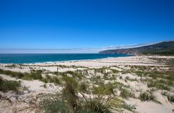 Cascais beach in Portugal, Europe royalty free stock images