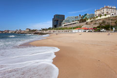 Cascais Beach in Portugal Royalty Free Stock Images