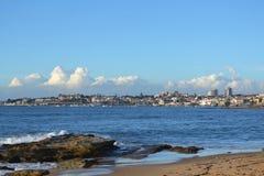 Cascais beach town view Stock Photos