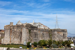 Cascais Fortress in Portugal Royalty Free Stock Photo