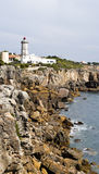Cascais Guia Lighthouse Stock Images