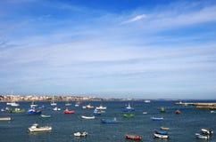 Cascais i Portugal Fotografering för Bildbyråer