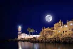 Cascais Lighthouse Royalty Free Stock Photos