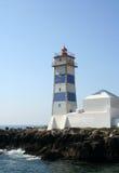 Cascais lighthouse Stock Image
