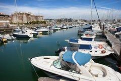 Cascais marina i Portugal Fotografering för Bildbyråer