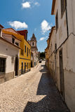 Cascais old town Royalty Free Stock Images