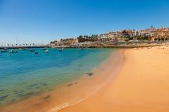 Cascais på sommaren, Portugal Royaltyfri Foto