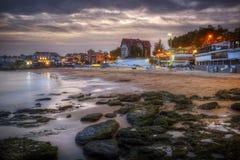 Cascais plaża Fotografia Stock