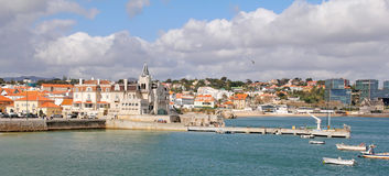 Cascais- popular touristic destination near Lisbon, Portugal Royalty Free Stock Photography
