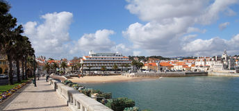 Cascais- popular touristic destination near Lisbon, Portugal Royalty Free Stock Images