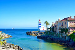 Cascais. Portugal. Beautiful marine Panorama. Cascais. Portugal Royalty Free Stock Photography
