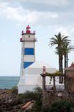 Cascais, Portugal.  Lighthouse Stock Photo