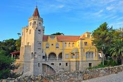 Cascais slott Royaltyfri Fotografi