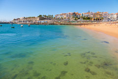 Cascais at summer, Portugal stock images