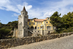 Cascais Torre de Sao Sebastiao Royalty Free Stock Photos