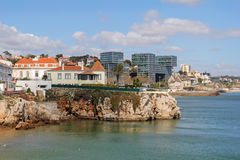Cascais- very popular tourist in Portugal Stock Images