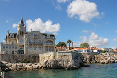 Cascais- very popular tourist resort in Portugal Stock Photography