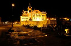 Cascais Waterfront Palace, Navy Captaincy and Canteen royalty free stock images
