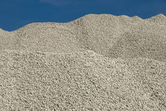 Cascalho da pedra calcária Fotografia de Stock