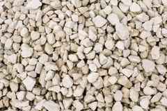 Cascalho ou pedra esmagada na textura clara natural fotografia de stock