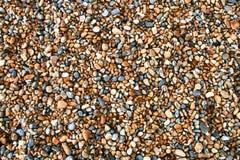 Cascalho, seixos, pedras, fundo Imagens de Stock