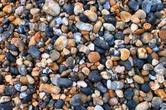 Cascalho, seixos, pedras, fundo Fotografia de Stock Royalty Free