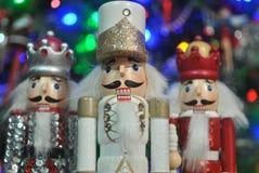 Cascanueces de la Navidad Foto de archivo libre de regalías