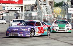 Cascar car racing Royalty Free Stock Image