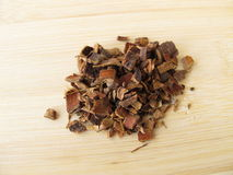 Cascara Buckthorn bark, Rhamni purshiani cortex Stock Image