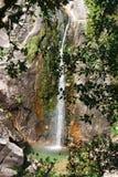 Cascata在Peneda做Arado Geres国家公园  免版税库存照片