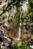 Cascata在Peneda做Arado Geres国家公园  库存照片
