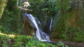 Cascata代勒Marmore瀑布 影视素材