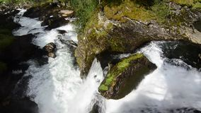 Cascata video d archivio