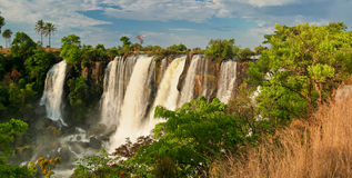 Cascata in Africa Immagini Stock