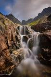 Cascata al dolina del ¡ di Zlomiskovà Immagine Stock