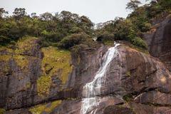 Cascata al picco di Adam - Sri Lanka Immagini Stock Libere da Diritti