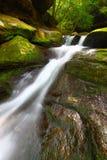 Cascata Alabama di cadute dell'insenatura di Caney fotografia stock libera da diritti