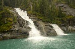 Cascata Alaska Immagini Stock
