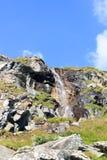 Cascata, alpi di Hohe Tauern, Austria Fotografia Stock