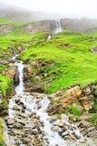 Cascata alpina Fotografia Stock