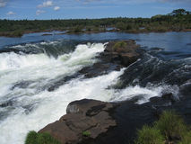 Cascata Argentina e Brasile della gola dei diavoli Fotografia Stock Libera da Diritti