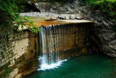 Cascata in Austria Immagini Stock