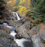 Cascata in autunno Immagine Stock Libera da Diritti