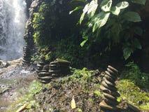 Cascata - Bali Fotografia Stock