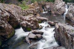 Cascata Betws Y Galles del nord misto Immagini Stock