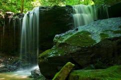 Cascata blu e verde Immagine Stock Libera da Diritti