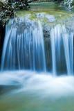 Cascata blu meravigliosa fotografia stock libera da diritti