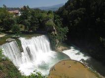 Cascata in Bosnia-Erzegovina Fotografia Stock