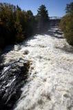 Cascata Bracebridge Ontario del fiume Immagini Stock Libere da Diritti