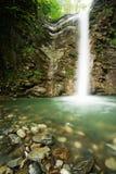Cascata in canyon Fotografie Stock Libere da Diritti